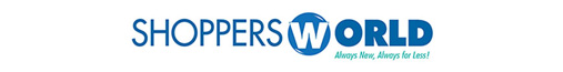 Shoppers World Flooring & Furniture Logo